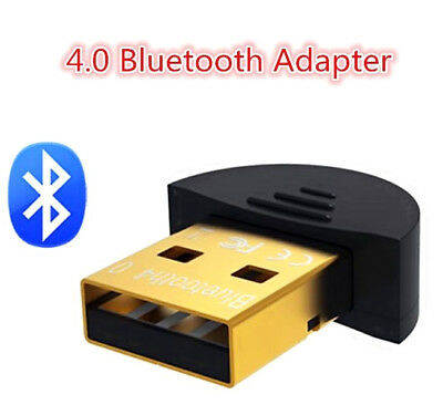USB 2.0 Mini Bluetooth 4 0 CSR4.0 Adapter Dongle for PC LAPTOP WIN XP VISTA 7810