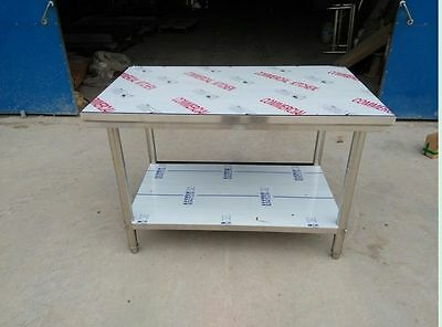 "Pickup Only! Stainless Steel Work Prep Table Commercial Kitchen Bench 24"" x 48"""