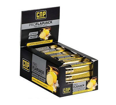 CNP Pro Flapjacks 24 Bars Cherry & Almond - Whey Protein & Oat Bar