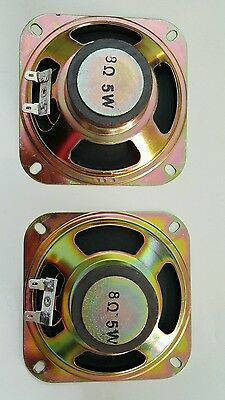 Speaker for Arcade Pinball machine 4 Inch 8 ohm 5W SET of 2 New w/bigger magnet