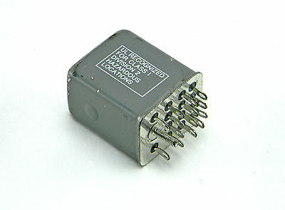 Potter & Brumfield Khs-17D11-110 Ice Cube Relay 110Vdc 1/10Hp 3A 120Vac