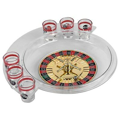 Shot Glass Drinking Roulette Bar Game Set Novelty Party Game for Adults