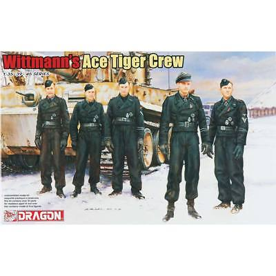 NEW Dragon Models 1/35 Wittmann s Ace Tiger Crew (5) 6831