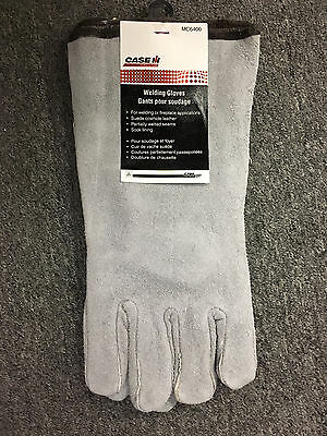 Case IH Leather Welding Gloves Brand New MC6400