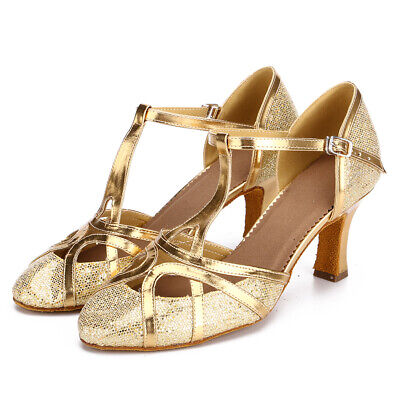 Promotion Ballroom Latin Dance Shoes for Women/Ladies/Girls/Tango&Salsa/2 Colors