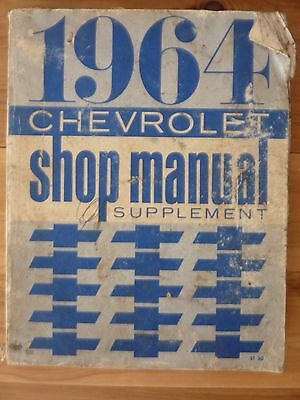 Chevrolet 1964 Shop Supplement Manual