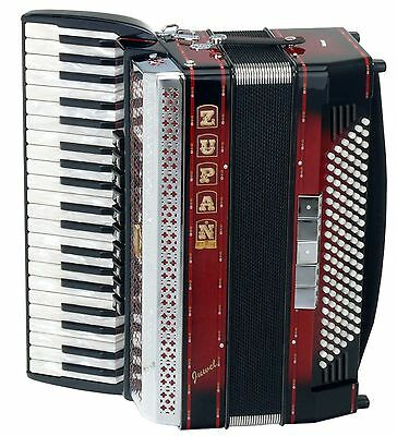 Professional Accordion 120 Bass Buttons 41 Treble Keys 10 Register Straps Gigbag
