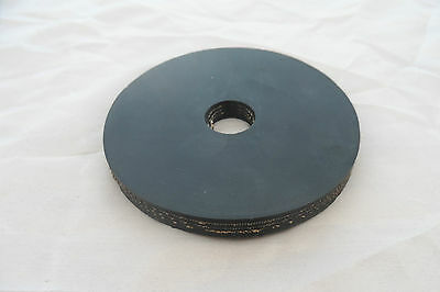 Plunger rubber, 80mm wide. 10mm thick - for plumbers australian made free post