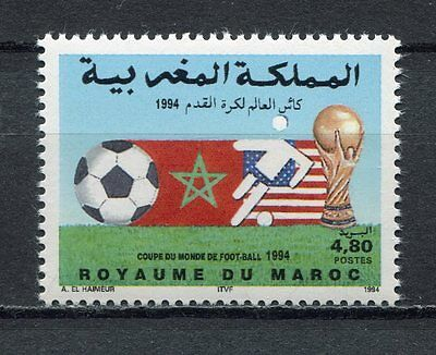 s6973) MOROCCO 1994 MNH** World Cup Football - Coppa Mondo Calcio 1v