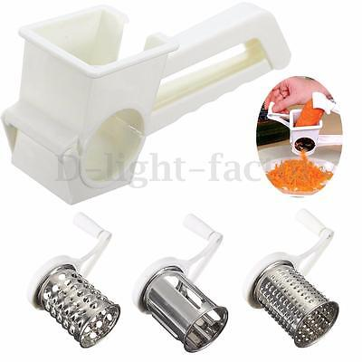 4Pcs Set Multifunctional Rotary Cheese Grater Planing Kitchen Slicer Hand Tools
