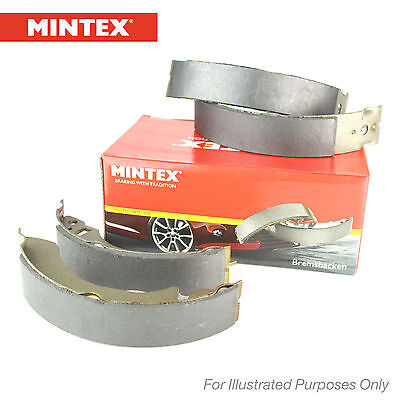 New Mitsubishi L200 2.5 Di-D 4WD Genuine Mintex Rear Brake Shoe Set