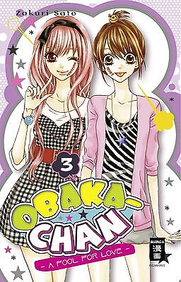 OBAKA-CHAN - A fool for Love * Band 3 + 4 * Manga * neu + portofrei + Bonus