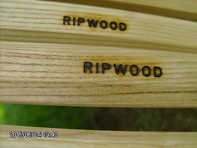 """new RIPWOOD naked ash wood 30"""" attack wooden lacrosse shaft"""