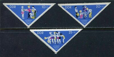 31395) DDR 1964 MNH** Young Pioneers - SCOUT  3v.