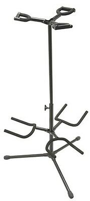 On Stage GS7321BT Deluxe Folding Triple Guitar Stand