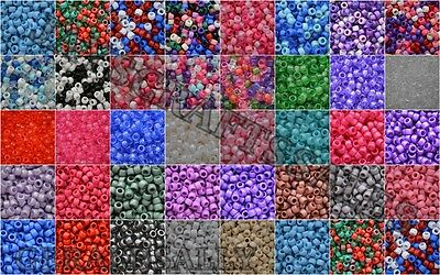 *3 For 2* 10-500 Opaque Glitter Pearl Mixed Pony Beads - Dummy Clips, Hair Braid