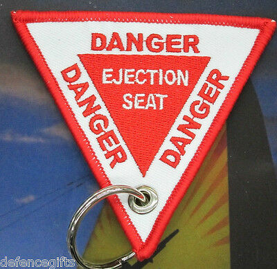 EJECTION SEAT DANGER Key Tag / Bag Tag