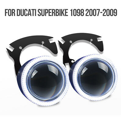 For Ducati 1098 2007-2009 Tailor-Made LED Angel Eye HID Projector