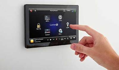 """Control4 7"""" In-Wall Touch Screen with Camera - Black"""