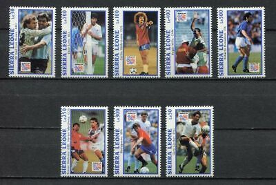 s7020) SIERRA LEONE 1993 MNH** WC Football'94 - CM Calcio 8v.