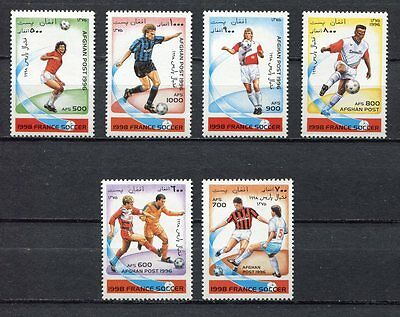 s7081) AFGHANISTAN 1996 MNH** WC Football'98 - CM Calcio 6v.