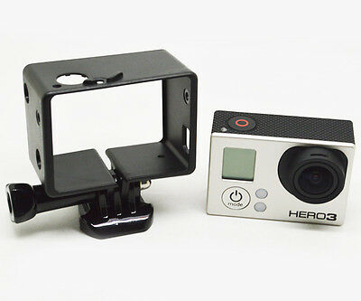 Tripod Border Bacpac Frame Mount Protective Housing Case for Gopro Hero 2 3+ 4