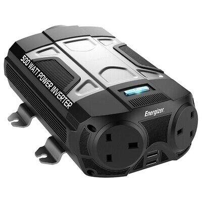 ENERGIZER Power Inverter - 12V to 230V - 500W  - 50610A |Next working day to UK
