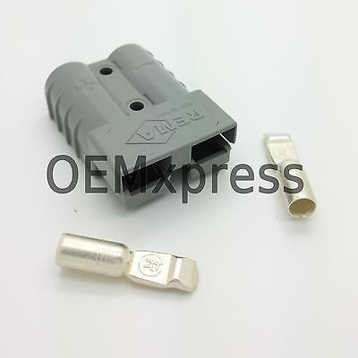 REMA SR 50 AMP grey 36V connector with AWG 6 size terminals