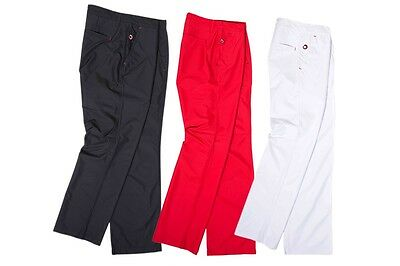 new lobster Tour Golf Jess Water resistant Proof H20FF Trousers Red Black White