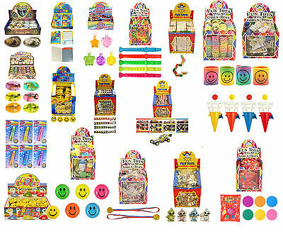 Childrens Boy Girl Party Bag Toys School Fete Bulk Wholesale Cartons Fund Raiser