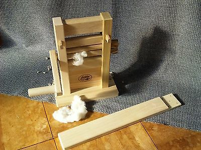New WOODEN JAPANESE COTTON GIN WEAVING Watakuriki Made in JAPAN Free Shipping