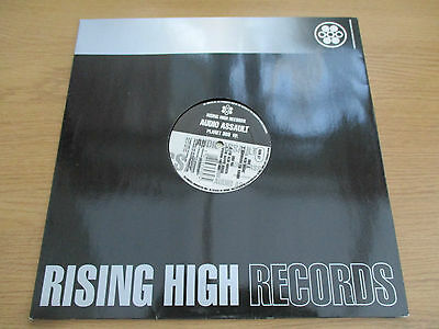 "Audio Assault  ‎–  Planet 303 EP  Vinyl 12"" 33RPM UK 1992 Breakbeat Acid  RSN 37"