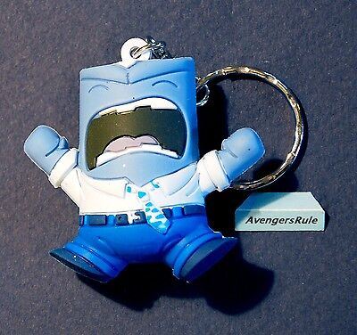 Disney Figural Keyring Series 6 3 Inch Anger Blue