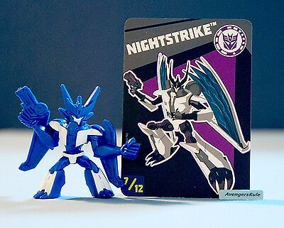 Transformers Tiny Titans Series 6 Robots in Disguise 7/12 Nightstrike
