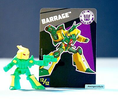 Transformers Tiny Titans Series 6 Robots in Disguise 12/12 Barrage