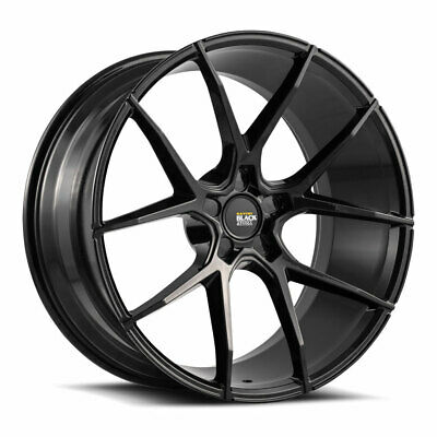 22 Savini Bm13 Gloss Black Concave Wheels Rims Fits Audi D3 A8