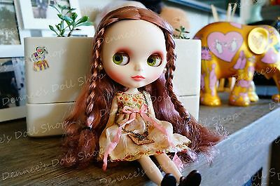 【D's Get it now】Handmade Blythe Clothes - Old fashion dress with necklace