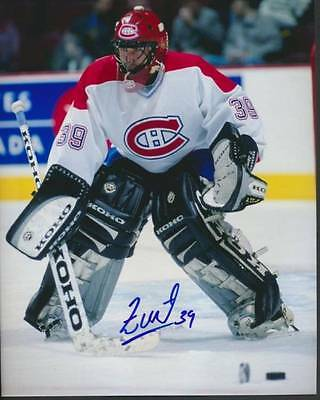 Fredric Chabot - Montreal Canadiens Signed 8x10 NHL Hockey Photo Glossy c/w COA