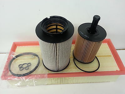 VW Golf MK5 V 1.9TDi 1896cc  Oil Air Fuel Filter  Service Kit 2004-2006