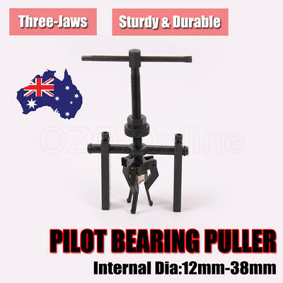 Pilot Bearing Puller 3 Jaws Bushing Gear Extractor Automotive Remover Heavy Duty
