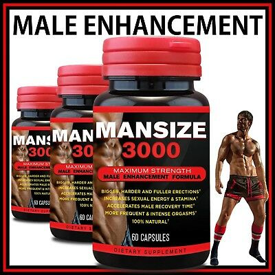 Male Enhancement Pills Sexual Potency Libido Erection Sex Girth Penis Enlarging