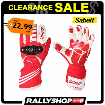 SABELT New Lux gloves size 12 Kart FREE WORLDWIDE DELIVERY CLEARANCE SALE!