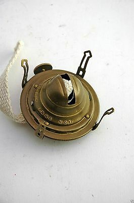 Oil Lamp Burner No. 1 Queen Ann Antique Brass Finish OL12011406