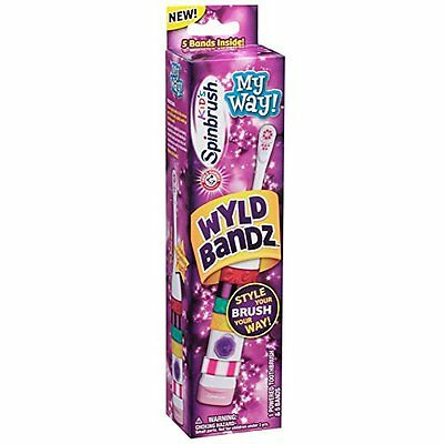 4 Pack - Arm & Hammer Kid's My Way! Girls Spinbrush 1 Each