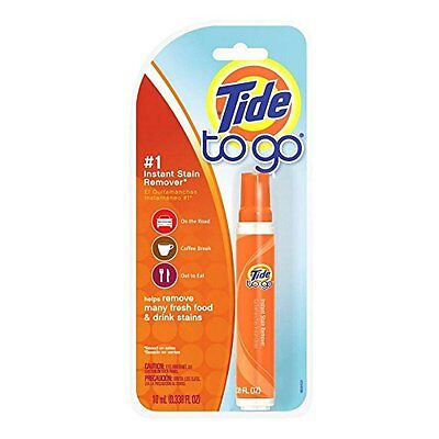 6 Pack - Tide To Go Instant Stain Remover 0.33oz Each
