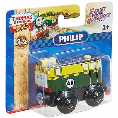 NEW Thomas and Friends Wooden Philip Magnetic Railway Engine
