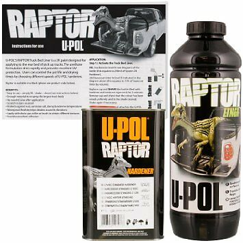 UPOL1L Raptor waterproofing BODYLINER Urethane Coating BLACK