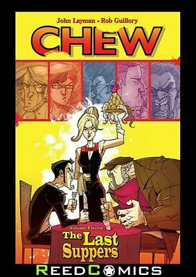 CHEW VOLUME 11 THE LAST SUPPERS GRAPHIC NOVEL New Paperback Collects #51-55