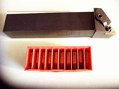 """New - MDJNL 20-5  (1 1/4"""") Profile Tool Holder (Left Hand) with 10 Pcs Inserts"""