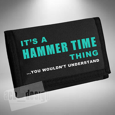 HAMMER TIME Thing Wallet / Purse Lewis Hamilton F1 formula 1 Number 44